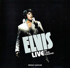 Elvis Presley - Live In Las Vegas - Promo Sampler CD