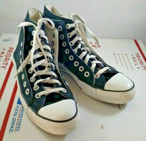 Details about Black Converse All Star Chuck Taylor Hi Top Shoes Sneakers Double Upper US 7 9