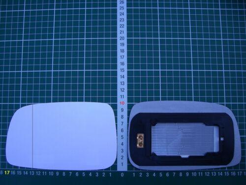 Rétroviseur Extérieur Miroir De Verre Ersatzglas TOYOTA PRIUS 2 à Partir De 2006-2009 Li ASPH complet bhzt