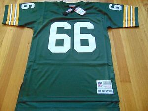 half off 6b40a e9b08 Details about MITCHELL & NESS NFL GREEN BAY PACKERS RAY NITSCHKE REPLICA  JERSEY SIZE M 40