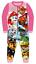Ninos-Ninas-Ninos-oficial-con-licencia-de-caracter-varios-Manga-Larga-Polar-Pijamas