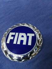 Fiat Blue Front Badge Emblem Grande Punto Palio Punto II Panda Stilo Scudo