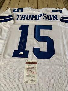 Details about Deonte Thompson Autographed/Signed Jersey JSA COA Dallas Cowboys