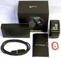 Nike + Sport Watch Gps Powered By Tom Tom Sport Watch Black