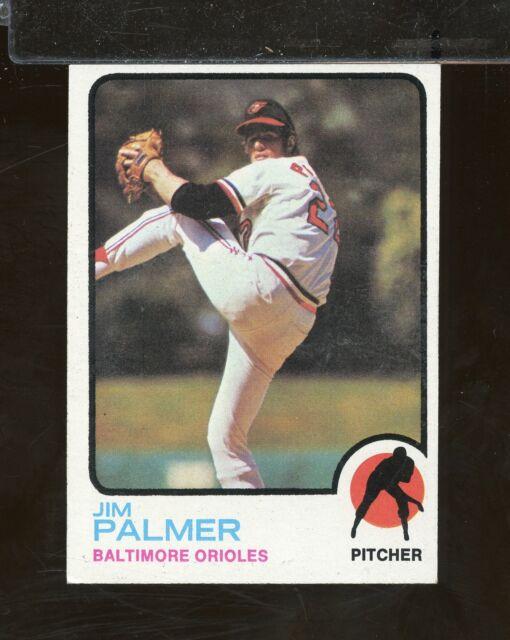 1973 Topps #160 JIM PALMER Baltimore Orioles EX (GT8A)