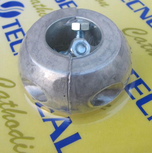 Aluminium Collar anode for 22mm propeller shafts