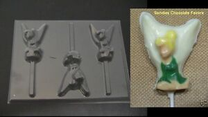 TINKERBELL-SITTING-FAIRY-Chocolate-Candy-Soap-Mold
