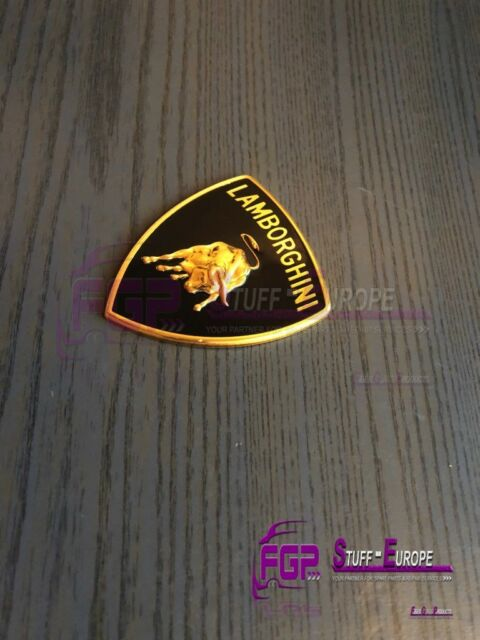 Lamborghini Murcielago Gallardo Front Hood Emblem Logo Oem