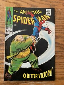 Amazing-Spider-Man-60-6-5-Fine-White-Pages-Early-Kingpin-Cover