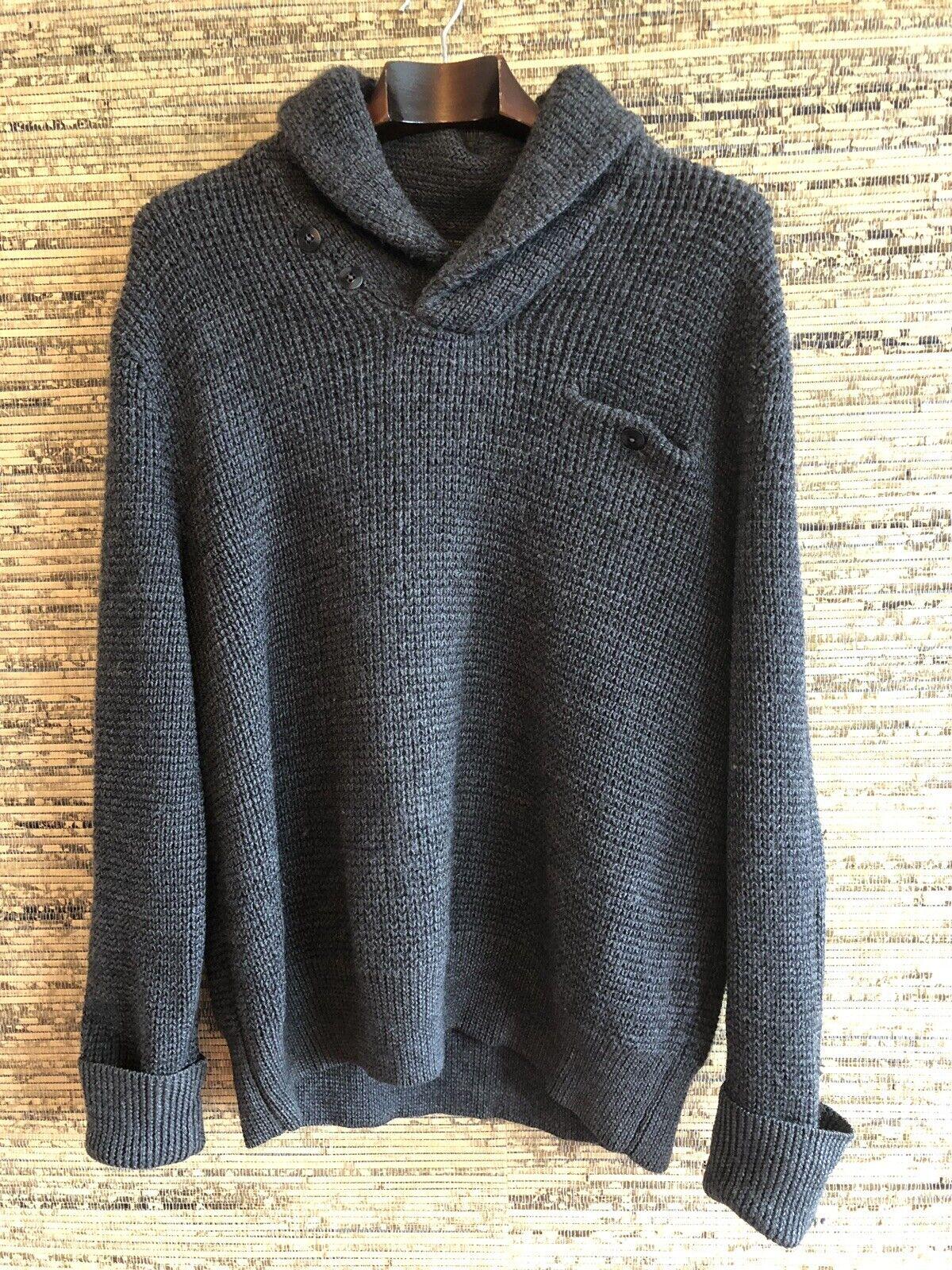 b3c0eda78 RRL Ralph Lauren Kitted Sweater Size XL nzsnxc18308-Jumpers ...