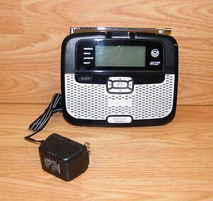 Genuine-Radio-Shack-12-262-NOAA-Public-Alert-Weather-Radio-With-Power-Supply