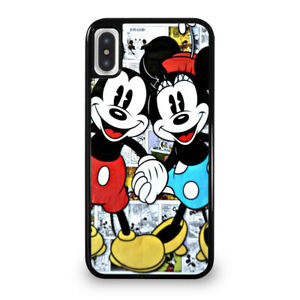 Details About Mickey And Minnie Mouse Disney Comic Iphone 6 6s 7 8 Plus X Xs Max Xr Case Cover