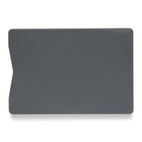 RFID Blocker NFC Schutzhülle EC Kartenhülle Grau Stabil Kreditkarte Scheckkarte