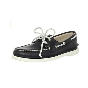 Supersoft Leather Boat Shoes Black