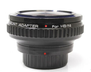 Kenko-Mount-Adapter-For-Hassel-Hasselblad-Lens-to-Nikon-F-Mount-Body-EXCELLENT