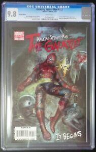 Amazing-Spider-Man-612-Marvel-Comics-CGC-9-8-White-Pages-Granov-Variant