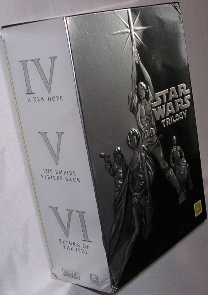 Star Wars Trilogy, DVD, action