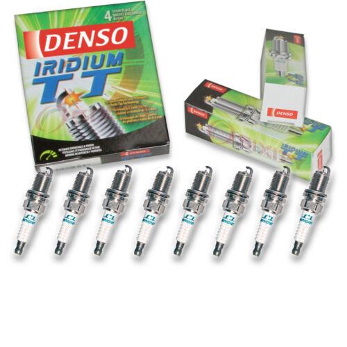 8 pc Denso Iridium TT Spark Plugs for Toyota Sequoia 4.7L V8 2001-2009 Tune dg