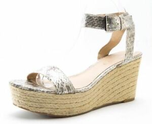 25322a6a733 Image is loading Via-Spiga-Larissa-Espadrille-Wedge-Ankle-Strap-Reptile-