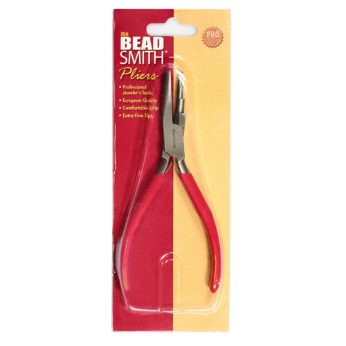 BeadSmith® 3-Step Round Hollow Pliers with Double Spring for 3-5mm Loops