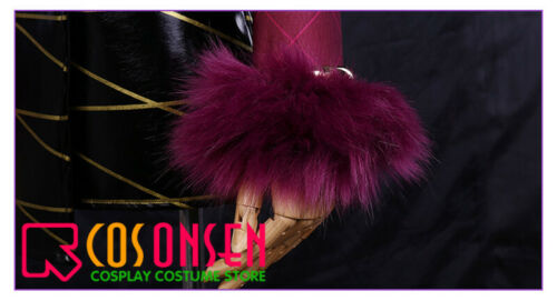 LOL KDA Evelynn Cosplay Costume Fancy Dress Gril Group Cosonsen All Sizes