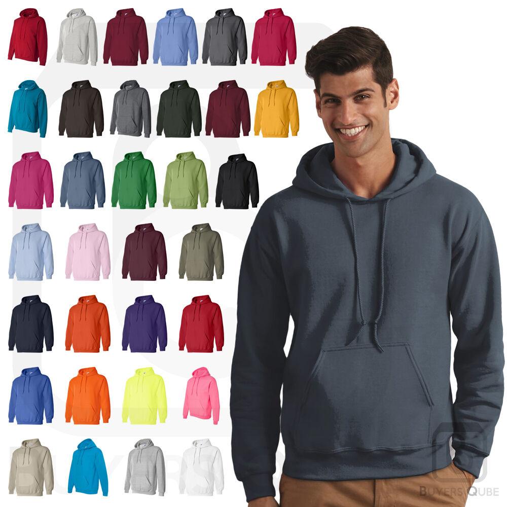 Gildan Men/'s Heavy Blend Hooded Sweatshirt Pullover Soft Hoodie 18500 S-2XL