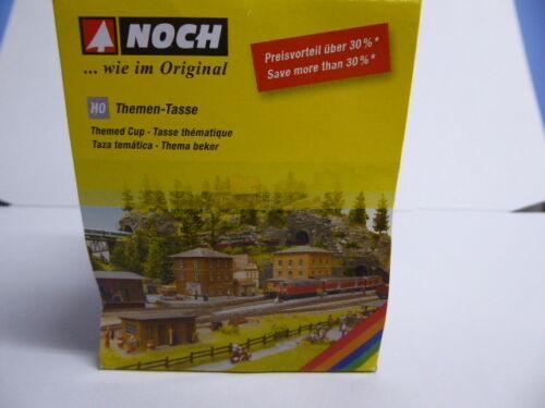 """NOCH 75981 Noch Themen Tasse /""""Im Garten/"""" NEU /& OVP"""