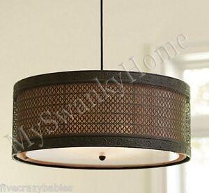 navarra metal black filigree chandelier horchow hanging light drum