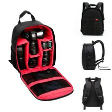 DSLR Waterproof Camera Backpack Shoulder Bag Case For Canon And Others