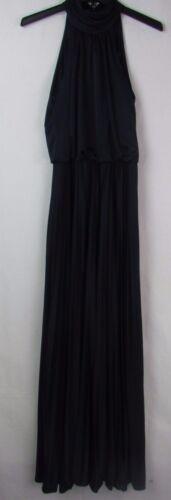 Betsy /& Adam Navy Halter Dress Gown NEW Women/'s Size 4 MSRP $209