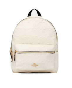 NWT-428-00-Authentic-Coach-Medium-Charlie-Backpack-In-Signature-Leather