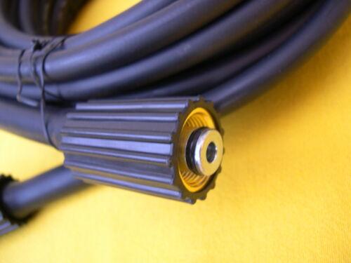 20m Schlauch M22 mit Düse für Rohrreinigung  Kränzle Kärcher Hochdruckreiniger
