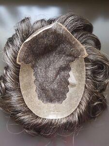 Protesi-capelli-Uomo-Ferro-di-cavallo-034-U-034-in-capelli-veri-front-naturale