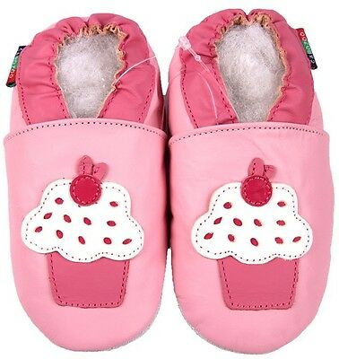 shoeszoo frog pink 2-3y S soft sole leather toddler shoes