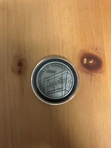5x 2001 Metal CHIPOTLE Mexican Grill COIN//TOKEN Free Burrito Gift Entree Coupon