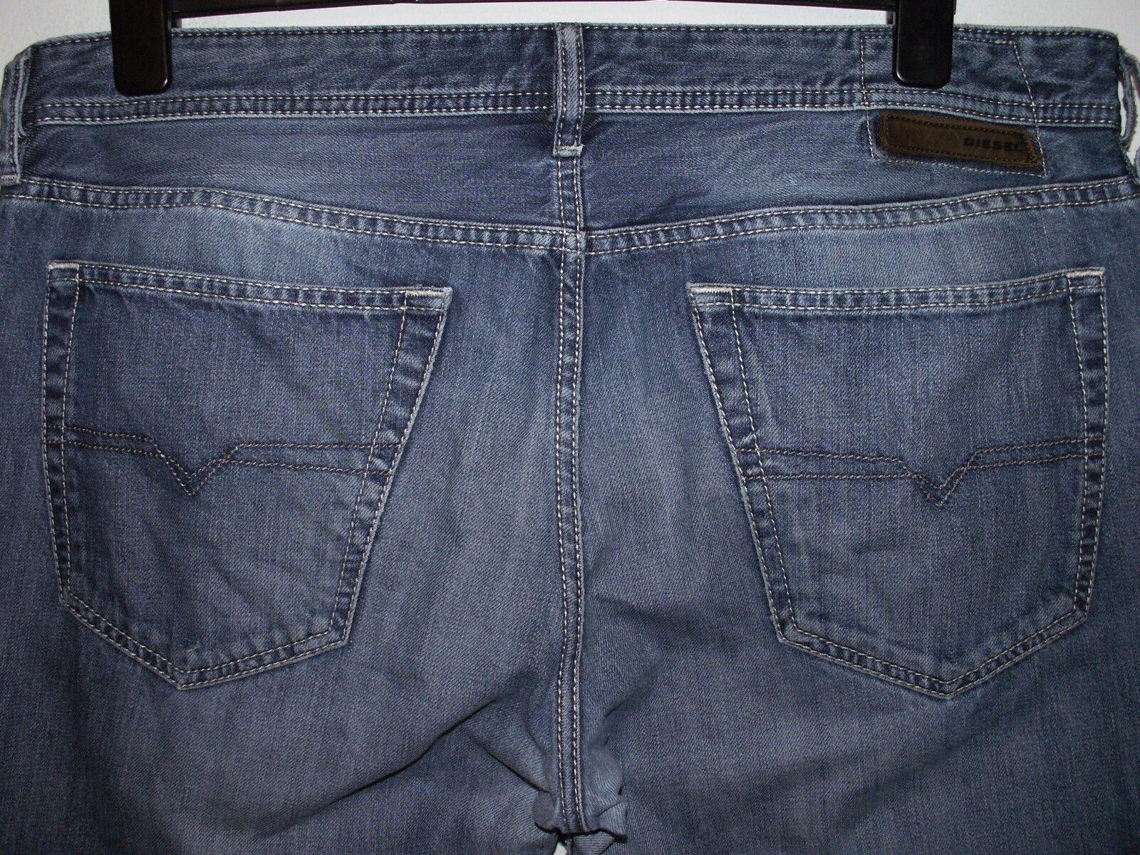 Diesel new-fanker regular slim-Stiefelcut jeans wash 0801Z W36 L32 (a2853)  | Glücklicher Startpunkt
