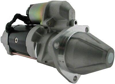 New 12 Volt PMGR Starter Fits Doosan Forklifts 1242718 8000340 36100-2CC00