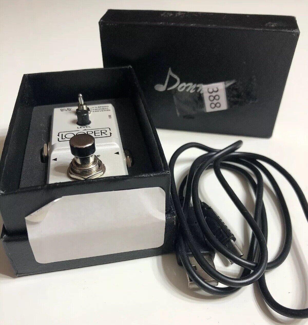 Nano Pedal Looper Donner EC 967 New Open Box 388 sold for Parts
