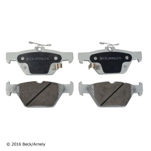 Disc Brake Pad Set Rear Beck//Arnley 085-2004