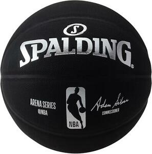 Spalding-Unsigned-Black-NBA-Replica-Arena-Series-Basketball