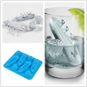 Titanic-amp-Iceberg-Silicone-Ice-Cube-Shape-Jelly-Tray-Maker-Mould-Large-Shape-FR