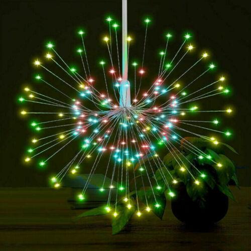 120//200 LED Solar String Fairy Light Garden Christmas Outdoor Party Decoration #