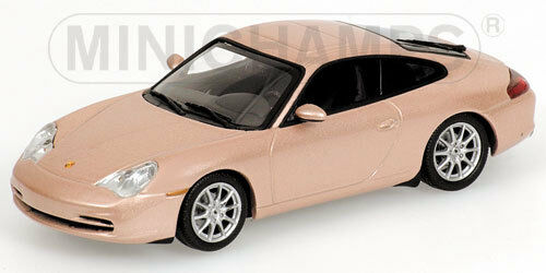 Minichamps Porsche 911 Coupe Year of Construction 2001 Salmon Silver Silver 1:43