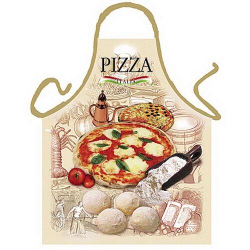 Barbecue tablier-kochschürze-italien pizza Grill motif tablier humour