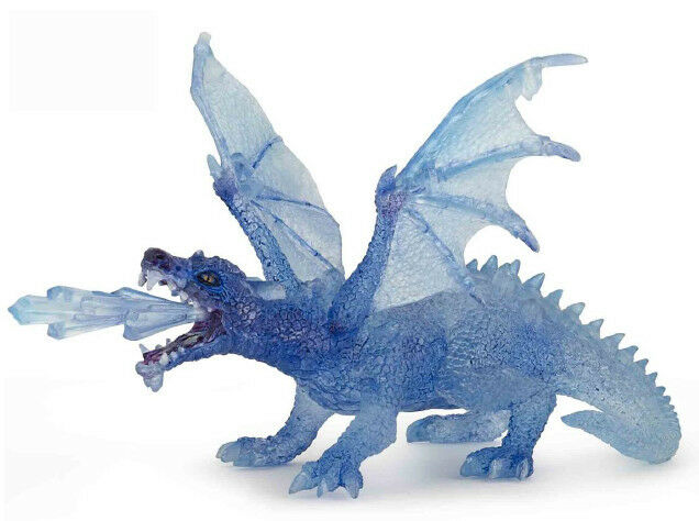Papo 38980 Crystal Ice Dragon Model Gamer Role Play Figurine Toy  - NIP