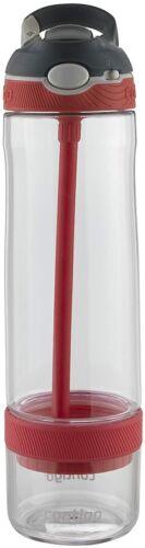 26 oz., Contigo 2076629 AUTOSPOUT Straw Ashland Water Bottle with Infuser