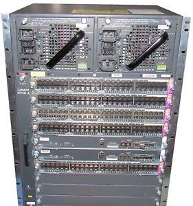 Cisco-Catalyst-4500-Series-switch-WS-C4510R-E-w-5x-WS-X4748-UPOE-E-DUAL-SUP-AC
