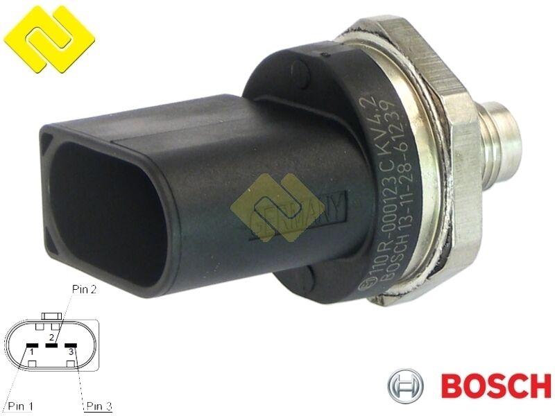 Fuel Bosch 0261545078 Fuel Pressure Sensor-High Pressure Sensor New