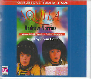 Andrew-Norriss-Aquila-3CD-Audio-Book-Unabridged-Brian-Cant-Children-039-s-Book-Prize