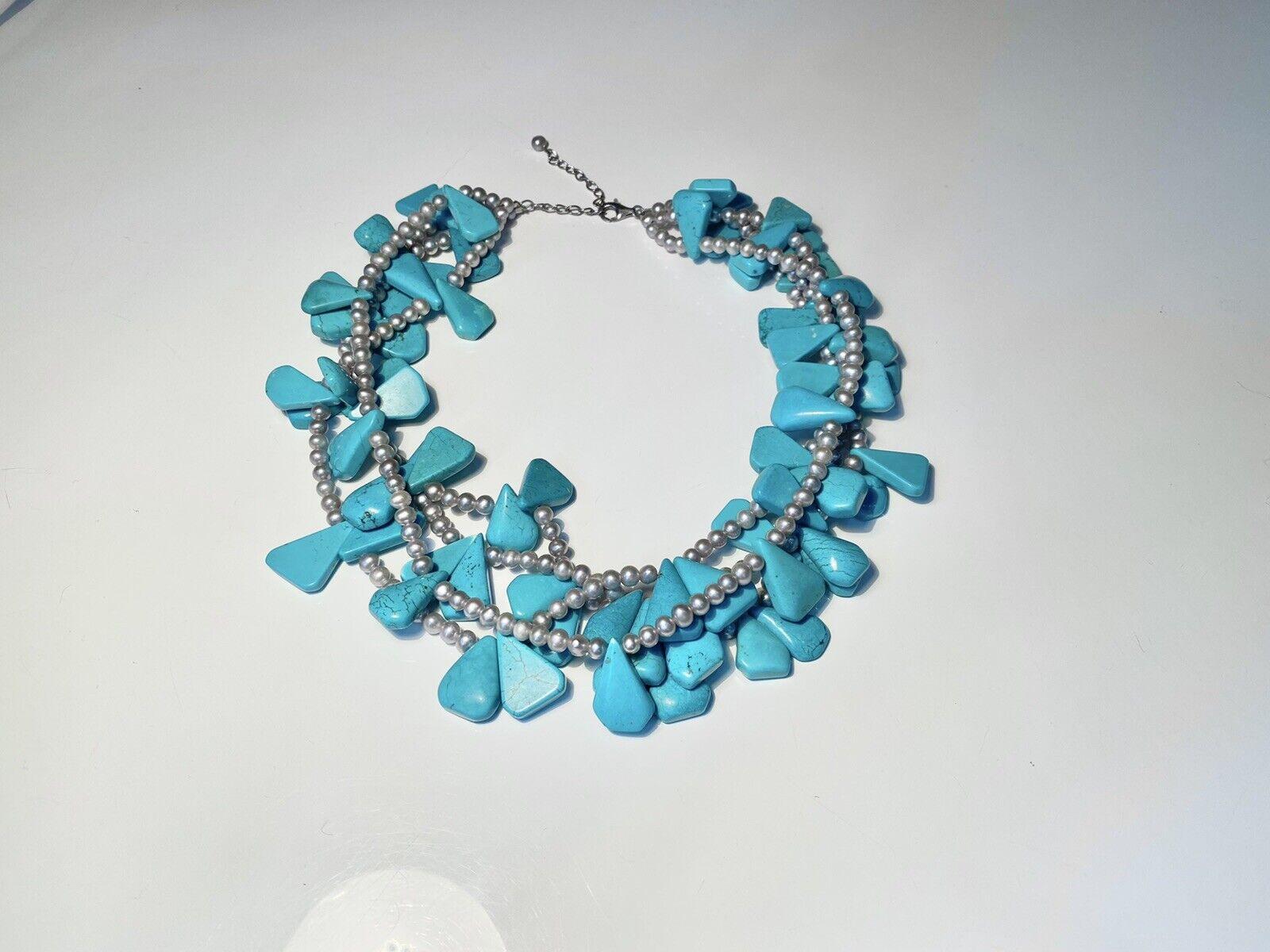 Diana Venezia Turquoise Necklace - image 3